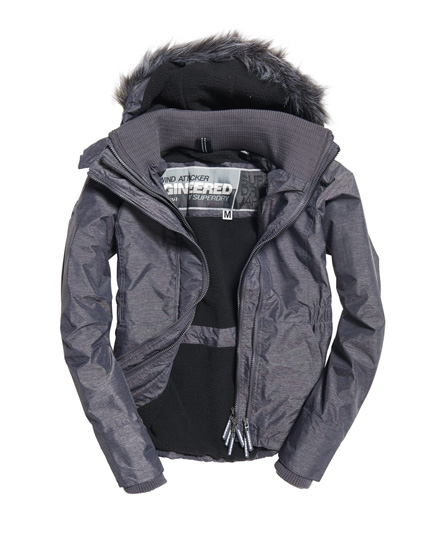 Superdry Hupullinen Fur Sherpa SD-Wind Attacker -takki
