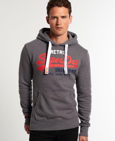 superdry vintage logo retro hoodie herren hoodies. Black Bedroom Furniture Sets. Home Design Ideas