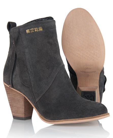 Superdry Dillanger Boots Dark Grey