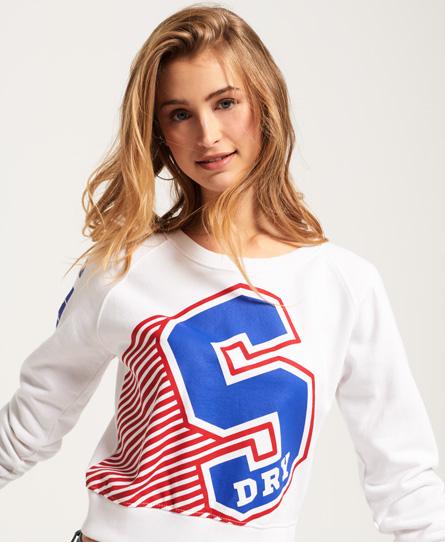 Superdry Superdry Big S sweatshirt med rund hals