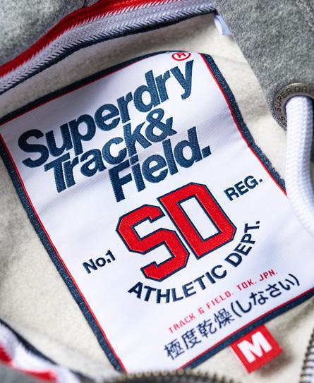 Superdry Trackster hættetrøje med lynlås