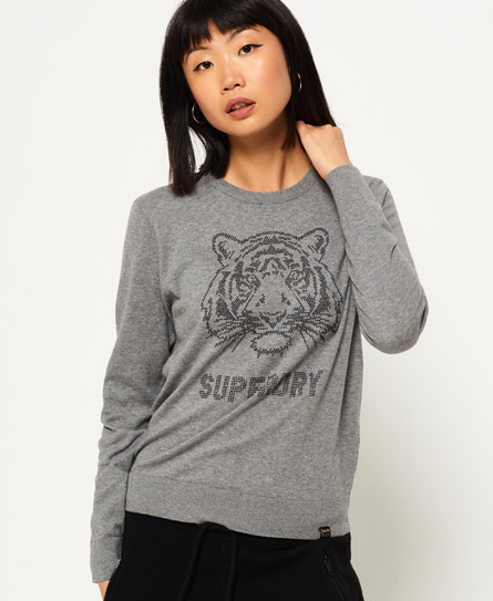 Superdry Superdry Tiger Gemstone striktrøje