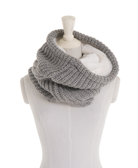 Superdry Diving Bell Snood Grey