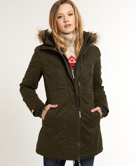 Hooded Super Wind Parka Coat,Womens,Windcheaters