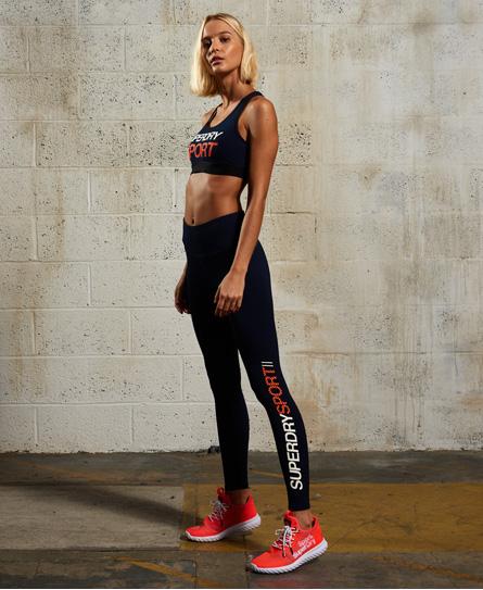 Sport Essentials Leggings mit hohem Bund
