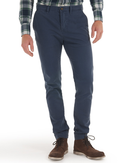 Superdry Commodity Slim Chino Blue