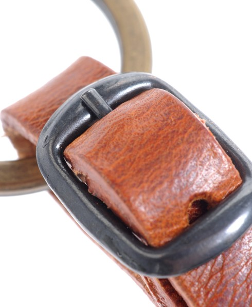 Superdry Goods Key Fob Brown
