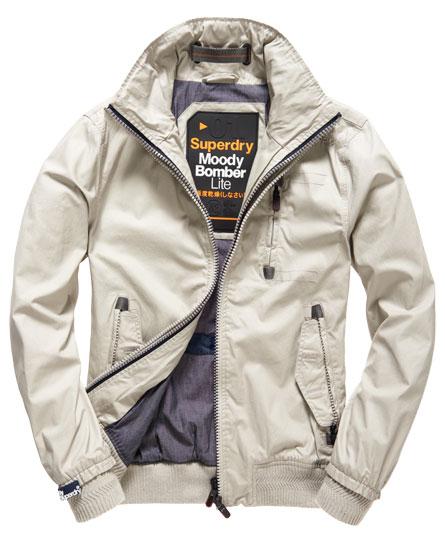 Superdry Moody Bomber Lite Jacket Beige