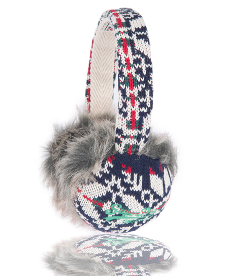 Superdry Nordic Earmuffs Blue