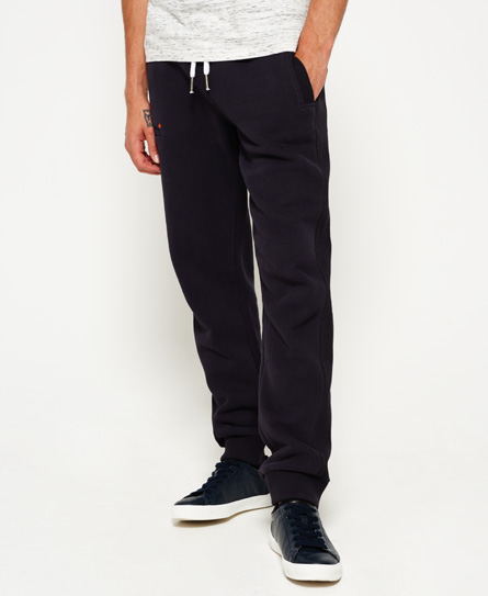 truest navy Superdry Orange Label Slim Joggers