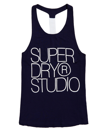 Superdry Studio elastisch hemdtopje