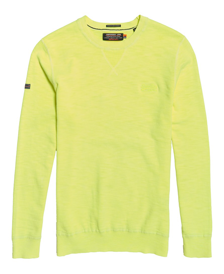 Superdry Garment Dyed L.A Crew Jumper