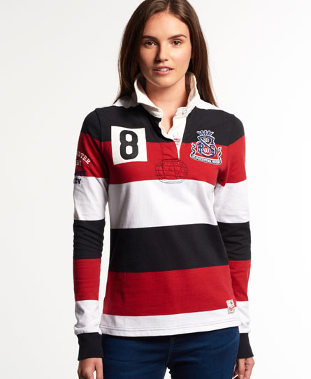 Superdry Gloucester Rugby Shirt