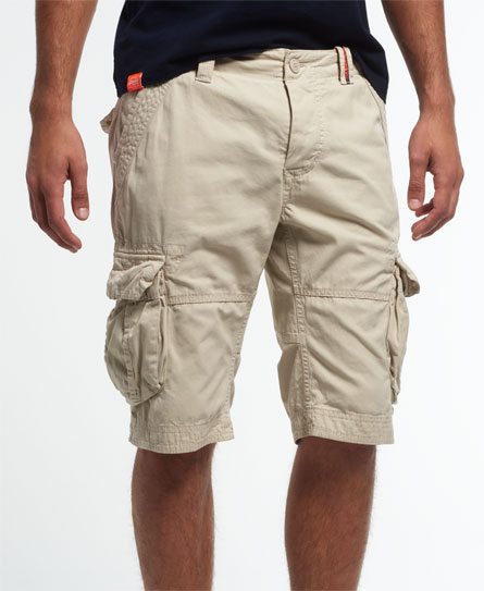 stone Superdry Core Cargo Lite shorts
