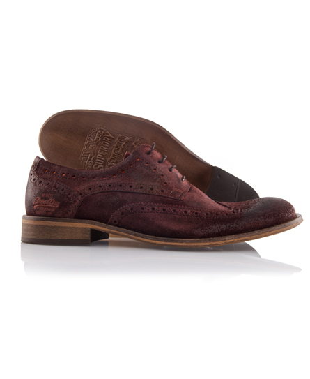 Superdry Matro Brogue Red
