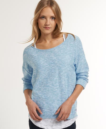 Superdry Icarus Knit Blue