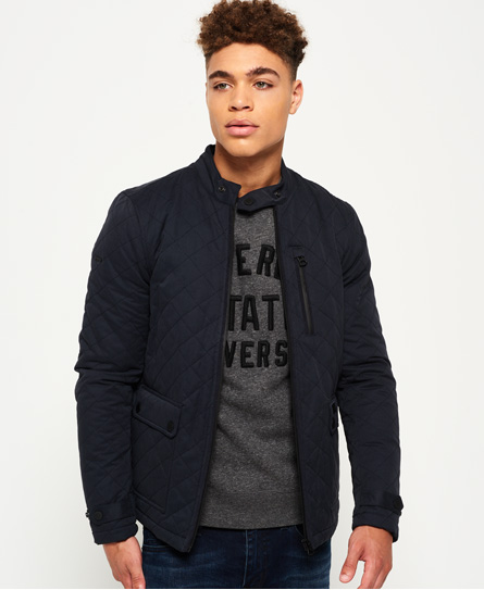 Superdry City Microfibre Quilted Jacket