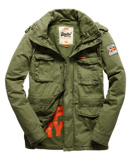 Superdry winterjacke army