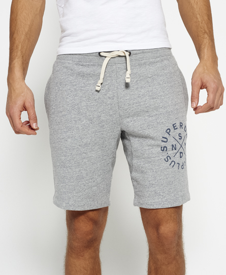 hudson grey grit Superdry Surplus Goods Sweat Shorts