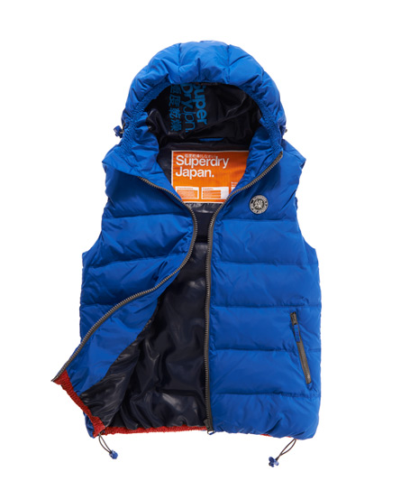 Superdry Elements Gilet Blue