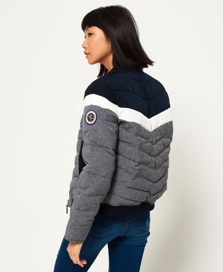 superdry nu sport code bomber jacket women s jackets coats