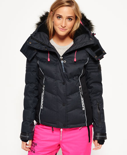 superdry doudoune de ski vestes et manteaux pour femme. Black Bedroom Furniture Sets. Home Design Ideas