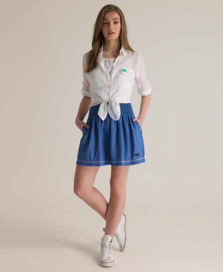 Superdry Horizon Skirt Blue