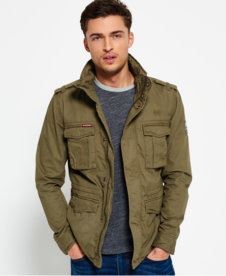 verde duty Superdry Cazadora Rookie Military