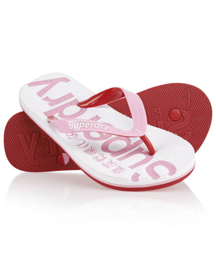 Superdry Flip Flops White