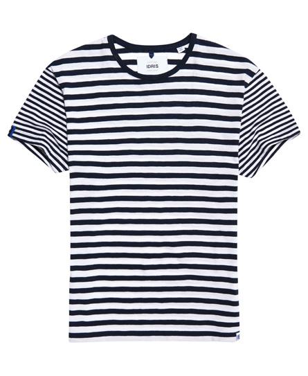 Idris gestreept T-shirt