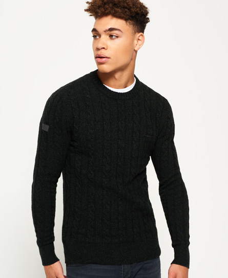 Superdry Harlo Cable Crew Jumper