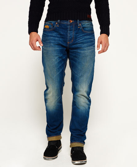 monty blue light Superdry Jeans a taglio largo Copperfill