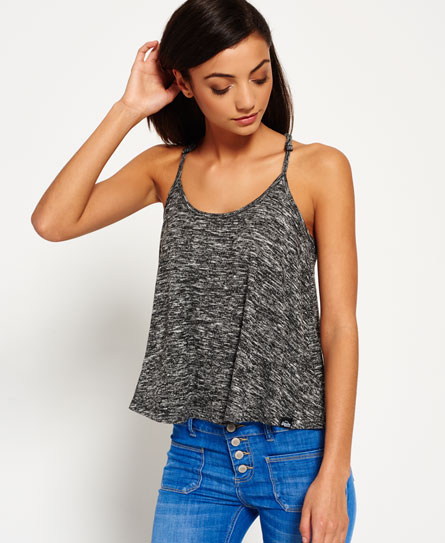 Superdry Racer Swing Cami Top White