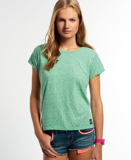 mint Superdry Super Sewn Rugged Lace T-Shirt