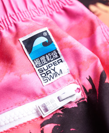 Superdry Premium Print Neo badeshorts