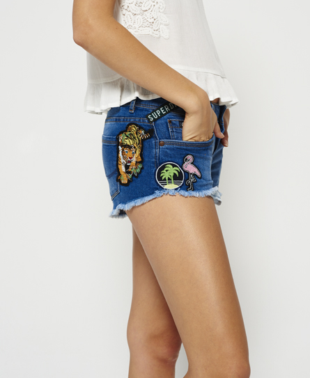 Superdry Superdry Patches hot shorts i denim