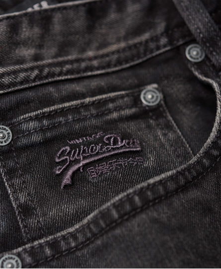 Superdry Schmal geschnittene Officer Denim-Shorts
