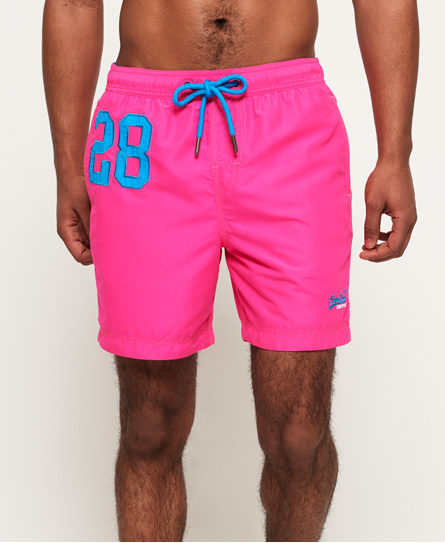 Superdry WATERPOLO SWIM - Bañador - cantina pink