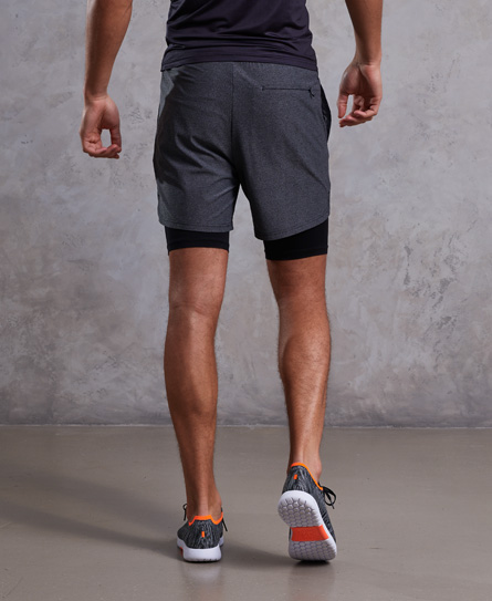 Superdry Athletic Double Layer Shorts