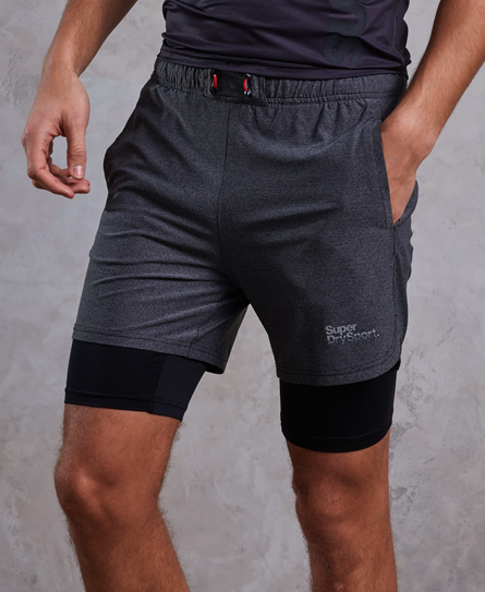 Superdry Superdry Athletic Double Layer shorts