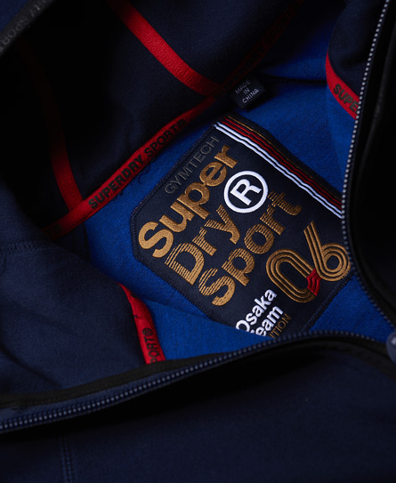 Superdry Gym Tech Team Zip Hoodie