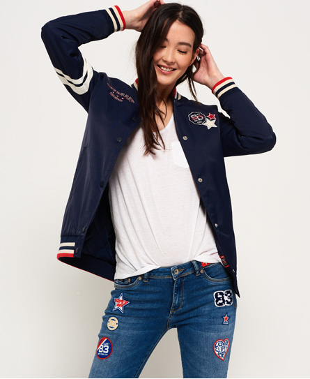 Superdry Superdry Pacific Patch pilotjakke