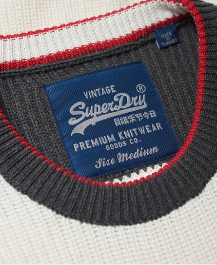 Superdry Athletic Textured Crew Jumper