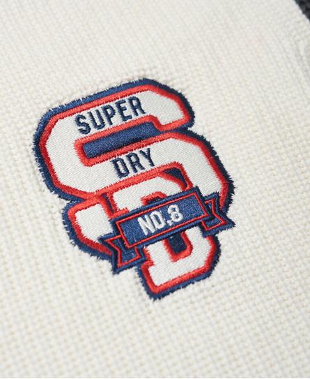 Superdry Athletic Textured Crew Jumper