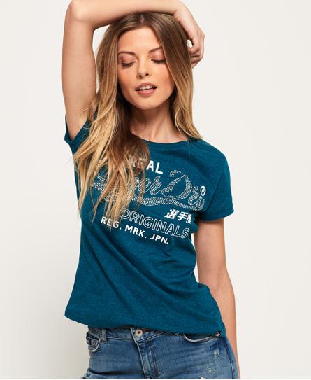 Superdry Superdry Rhinestone Original T-shirt