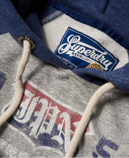 Superdry Athletic Dept Raglan Hoodie