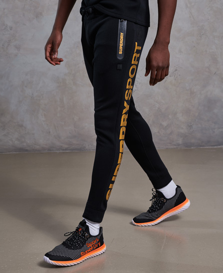 Superdry Superdry Gym Tech Gold Award joggers