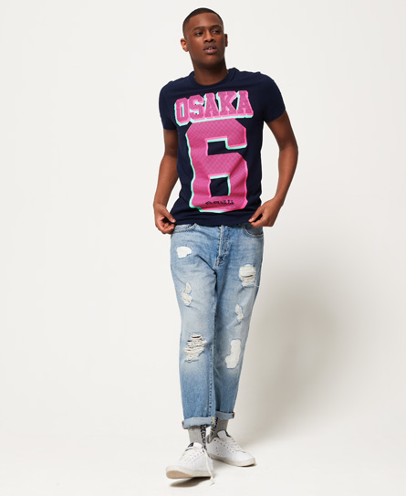 Superdry Osaka Micro Dot T-Shirt