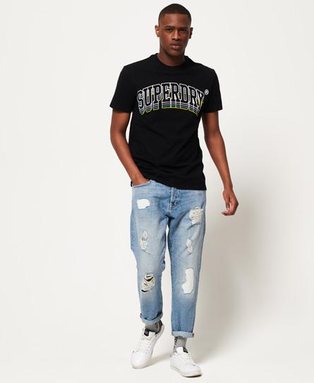Varsity Triple Drop Box Fit T-shirt Superdry Free Shipping Cost 8LpwrZ