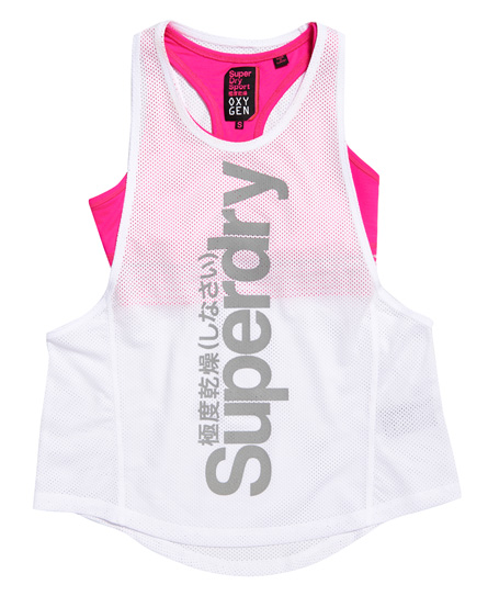 Superdry Oxygen sports-tanktop